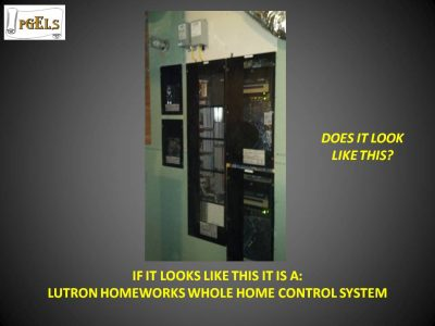 Lutron Homeworks Whole Home Control System