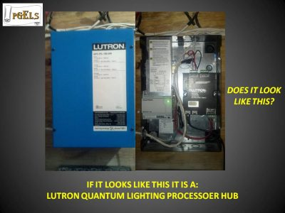 Lutron Quantum Lighting Processor Hub