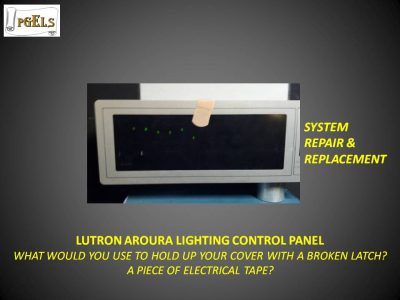 Lutron Aroura Lighting Control Panel