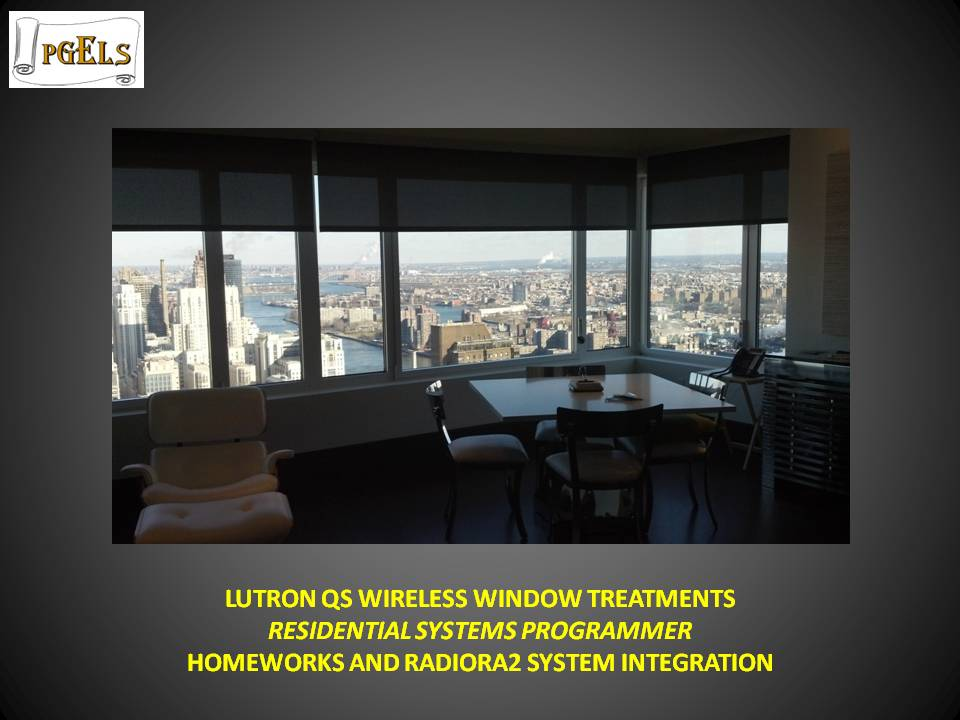 Lutron QS Wireless Window Treatments