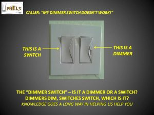 The Dimmer Switch vs Dimmer