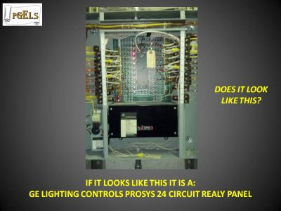 GE Lighting Controls Prosys 24 Circuit Realy Panel