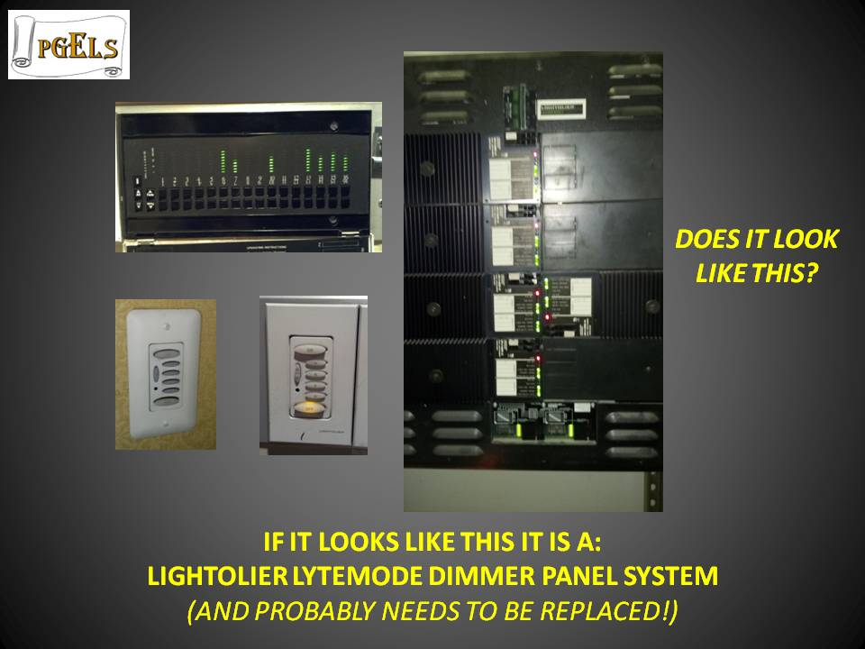 Lightolier Lytemode Dimmer Panel System