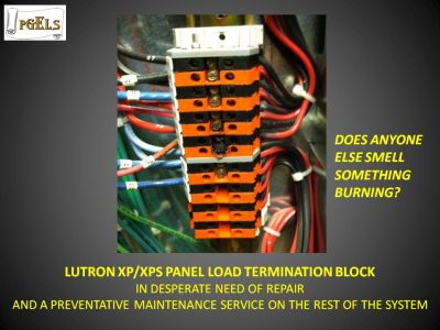 Lutron XP/XPS Panel Load Termination Block